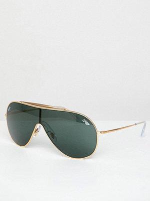 Solglasögon - Ray-Ban Wings Visor Sunglasses