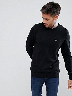 Tröjor & cardigans - Lacoste Logo Knitted Jumper In Black - 9m0