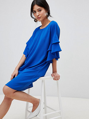 Y.a.s Shift Dress With Ruffle Sleeve