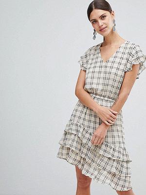 Y.a.s Sachecky Skater Dress - Cream check