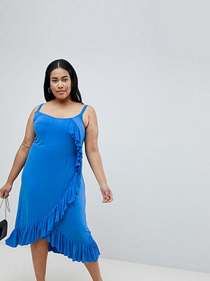 Junarose Ruffle Midi Cami Dress