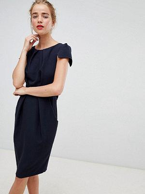 Closet London tie back short sleeve dress
