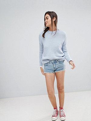 Superdry Jeansshorts med färgfläckar Splatter indigo
