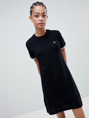Fred Perry Twin Tipped Heavyweight T-Shirt Dress