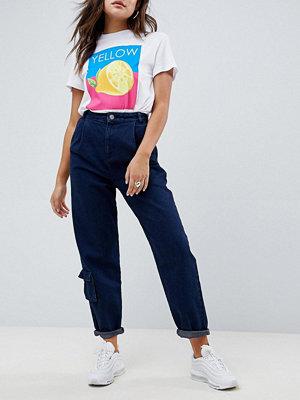 ASOS DESIGN Jeans med rundade sömmar