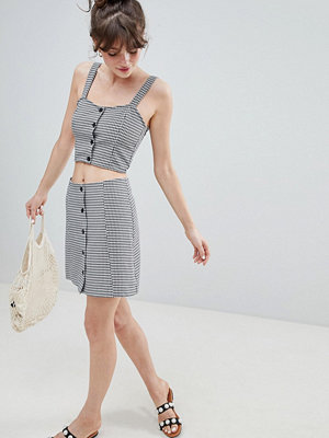Monki Check Skirt Co-Ord - Multi 1