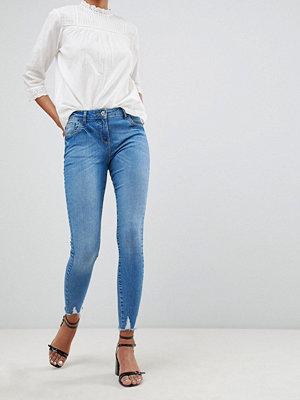 Parisian skinny jeans - Mid blue