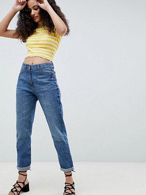 Parisian Boyfriend Jeans - Mid blue