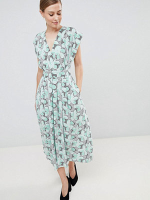 Closet London Kimono Sleeve Midi Dress