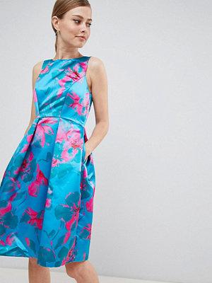 Closet London Floral Print Prom Dress