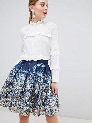 Closet London Småmönstrad kjol