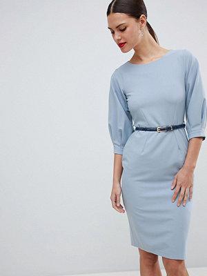 Closet London Belted Pencil Dress