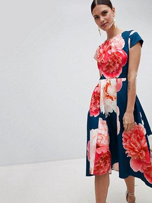 Closet London Bold Print Midi Dress