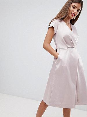 Closet London Tie Waist Dresss