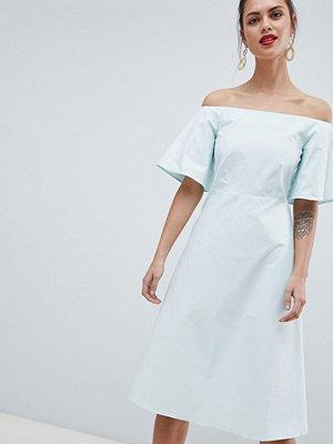 Closet London Off The Shoulder Dress - Mint