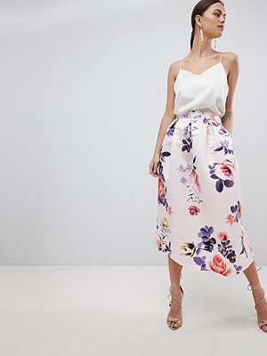 Closet London Blommig kjol