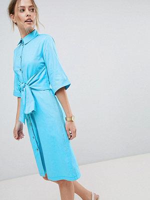 Closet London Shirt Dress With Waist Tie