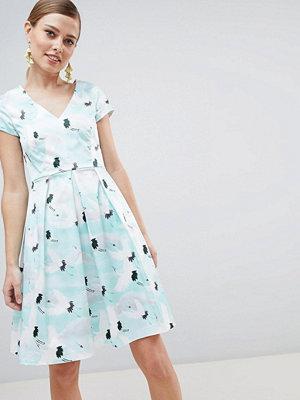 Closet London Pleat Skirt Dress