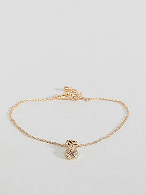 ASOS armband DESIGN bracelet with pineapple charm