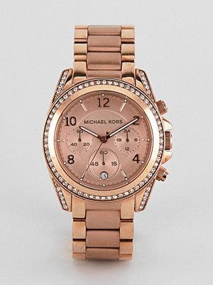 Klockor - Michael Kors MK5263 Blair Bracelet Watch In Rose Gold