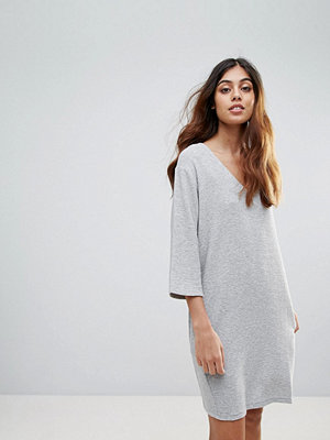 French Connection Sudan Luella Shift Dress - Light grey mel