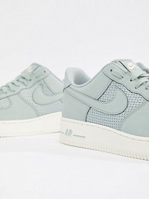 Nike Air Force 1 Woven Trainers In Grey AQ8624-002 - Grey
