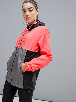 Under Armour Sportstyle Windbreaker In Red And Grey
