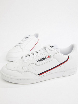 Adidas Originals Continental 80's Trainers In White B41674