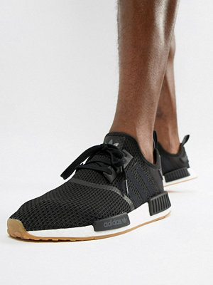 Adidas Originals NMD_R1 PK Trainers In Black B42200