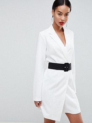 Asos Tall ASOS DESIGN Tall tux mini dress with belt