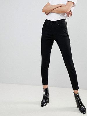 Hugo Skinny jeans med logga i midjan