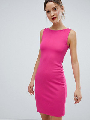 French Connection Lula Ponte Pencil Dress - Rosette blossom