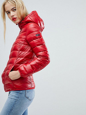 Tommy Jeans Quilted Padded Jacket - Samba