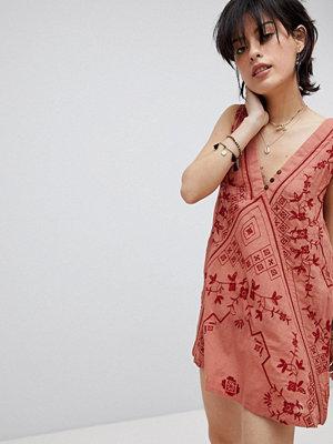 Free People Sweetest Shifty slip dress - Terracotta