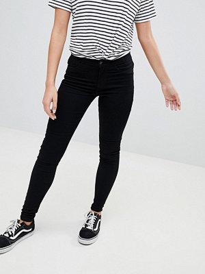 Jdy Svarta skinny jeans med hög midja