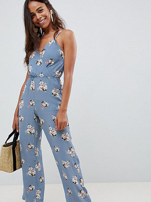 New Look Petite Blommig jumpsuit