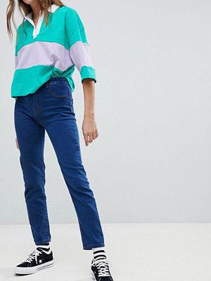 Pull&Bear High Waist Skinny Jean - Dark blue