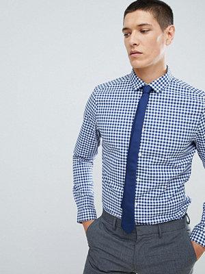 ASOS DESIGN smart stretch slim stripe shirt