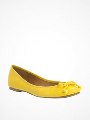 ASOS ring LUCY Ballet Flats - Gold mirror