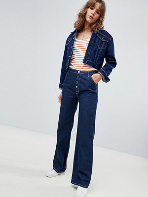MiH Jeans The Paradise Capsule Eco Raw Button Up High Rise Jeans - Eco rinse