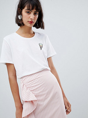 InWear Sera T-Shirt med glass logga