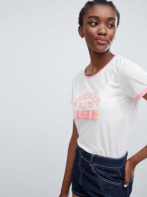 Sugar Dust T-shirt med tofs Summer Vibes