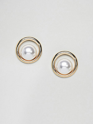 DesignB London örhängen Oversized Pearl Earrings