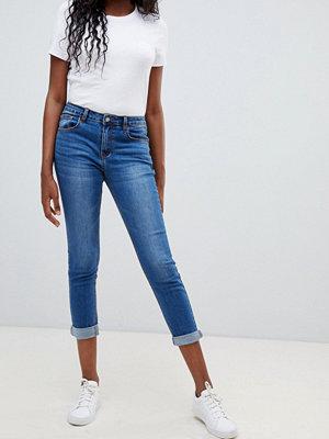 Glamorous Beskurna skinni jeans Stentvätt