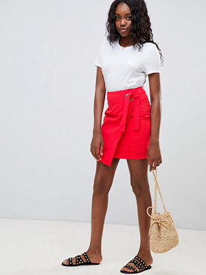 Glamorous wrap mini skirt
