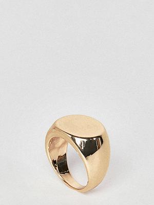 DesignB London Gold Classic Signet Ring