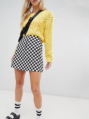 Reclaimed Vintage inspired check mini skirt