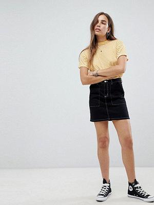New Look Kjol med kontrastsömmar