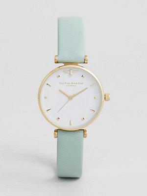 Klockor - Olivia Burton OB16AM143 Queen Bee Leather Watch In Mint