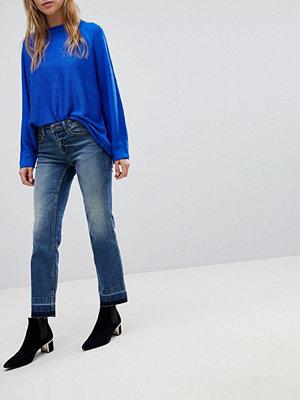 Jdy Straight jeans Mellanblå denim